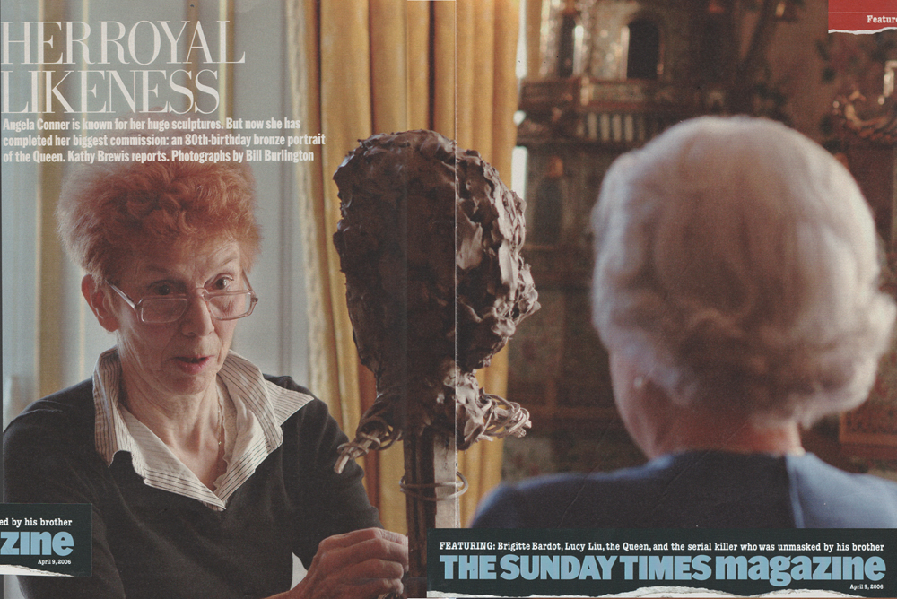 Sunday Times Magazine April 9th 2006 Her Royal Likeness page 1